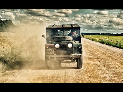 The Baltic Express Part 3. Land Rover Series One Road Trip.