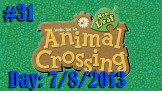 Animal Crossing: New Leaf (Part 31) (Day: 7/8/2013) Dawn of a New Day...