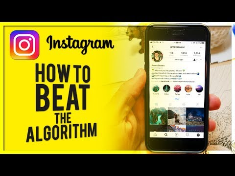 10 Ways to GROW ORGANICALLY On INSTAGRAM in 2018 - Beat the ALGORITHM!