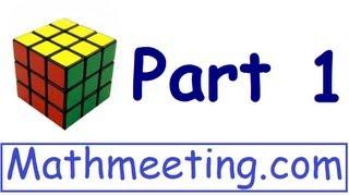 1 Rubik Küpü çözmek için nasıl - Bölüm