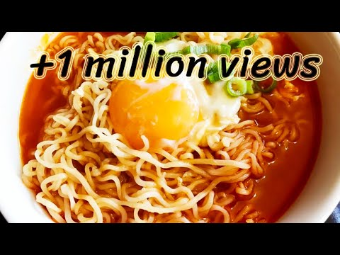 How To Make Quick & Easy Ramen Noodles With Egg
