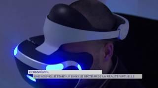 Coignières : une nouvelle start-up dans le secteur de la réalité virtuelle