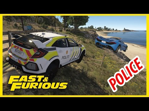 GTA5 LSPD Petrol Day5 ប៉ូលីស Fast & Furious