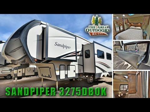 2018 FOREST RIVER SANDPIPER 3275DBOK S117 RV Sales Colorado Dealer