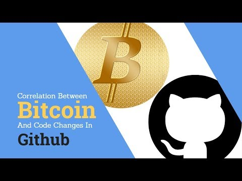 Correlation Between Bitcoin Prices And Code Changes On Github?