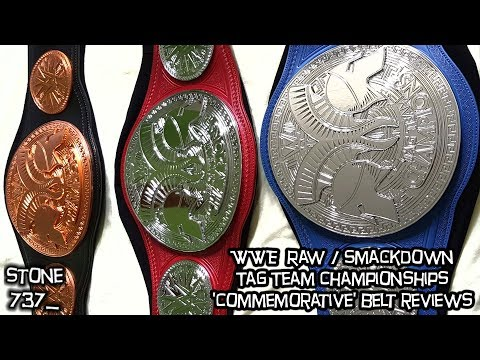 WWE Raw/Smackdown Tag Team Championships - Commemorative belt reviews