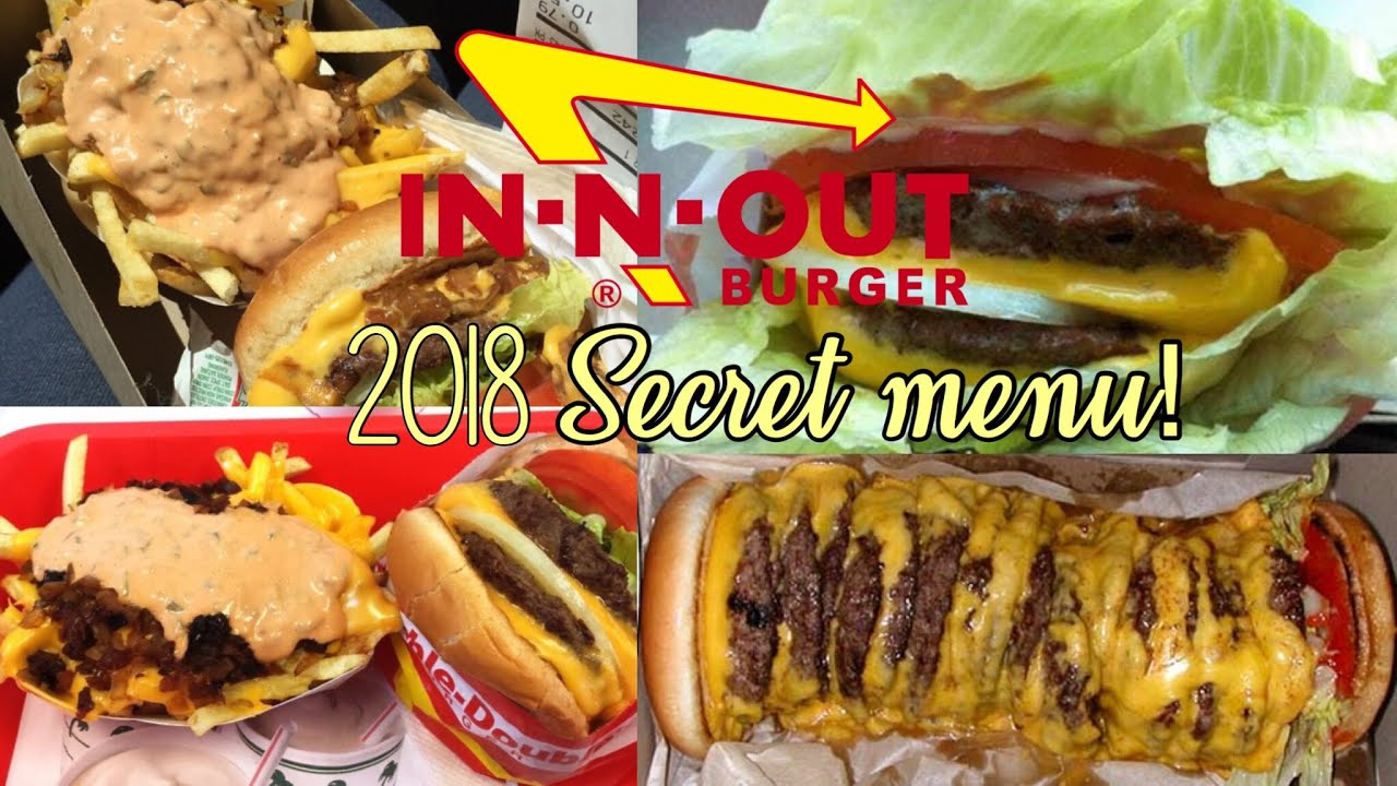 In N Out Menu >> IN-N-OUT Secret Menu - YouTube