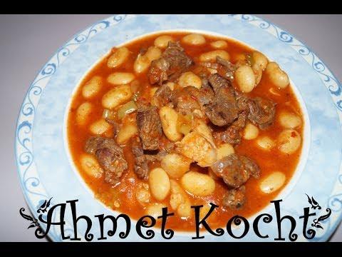Rezept: Bohneneintopf | Kuru Fasülye | AhmetKocht | türkisch kochen | Folge 62