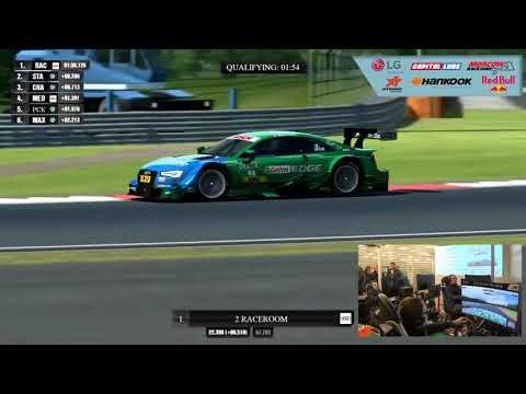 Чемпионат на автосимуляторах RaceRoom DTM esports