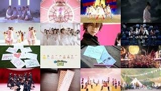 Morning Musume 20 Years All MVs Mega Medley