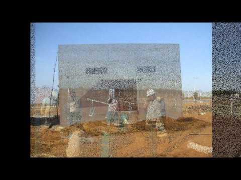 NGEE 1MW Solar PV Power Plant Erection Work