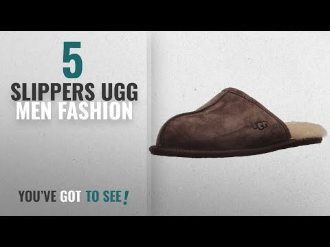 331f245f62d Top 10 Slippers Ugg [Men Fashion Winter 2018 ]: UGG Men's Scuff ...