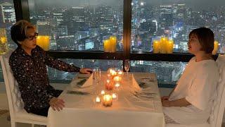【夜景の見える41階】結婚式場を貸し切ってエミリンとここで…