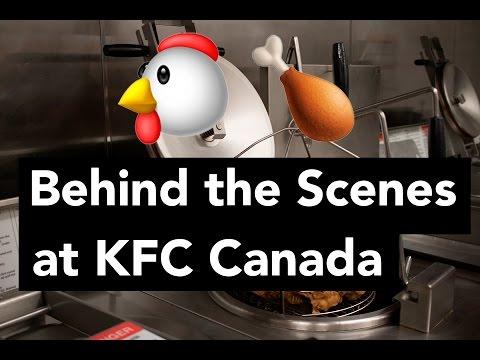 Behind The Scenes At KFC Canada