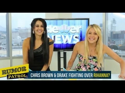 Chris Brown and Drake Fight Over Rihanna? - Lindsay Lohan Alcohol in Car? The Wanted Party Too Hard?