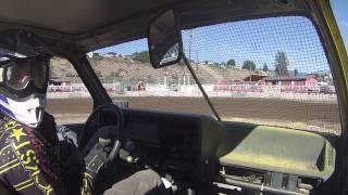 Outlaw Truck and Car Arena Races at Omak Stampede Arena