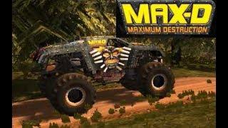 MAXIMUM DESTRUCTION DOUBLE BACKFLIP - Monster Jam
