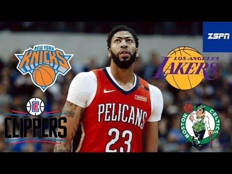 Anthony Davis Lakers Trade Scenarios 2019 | Lakers NBA Trade Rumors 2019