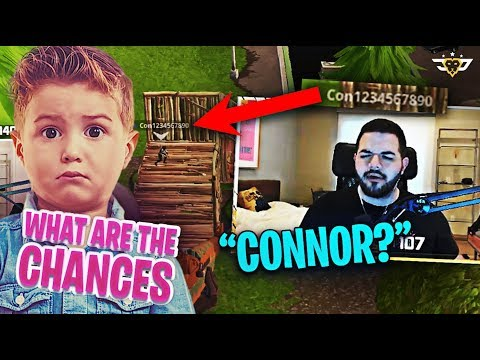 CONNOR AND I MATCHED IN A RANDOM DUO AGAIN?! (Fortnite: Battle Royale)