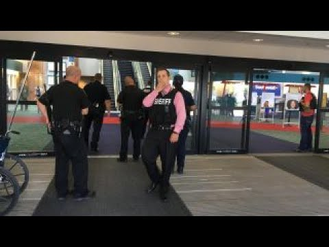 Stabbing at a Michigan airport is being investigated as an act of terror
