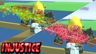 'RARE' ROBLOX Injustice OA - Christmas Auras Showcase
