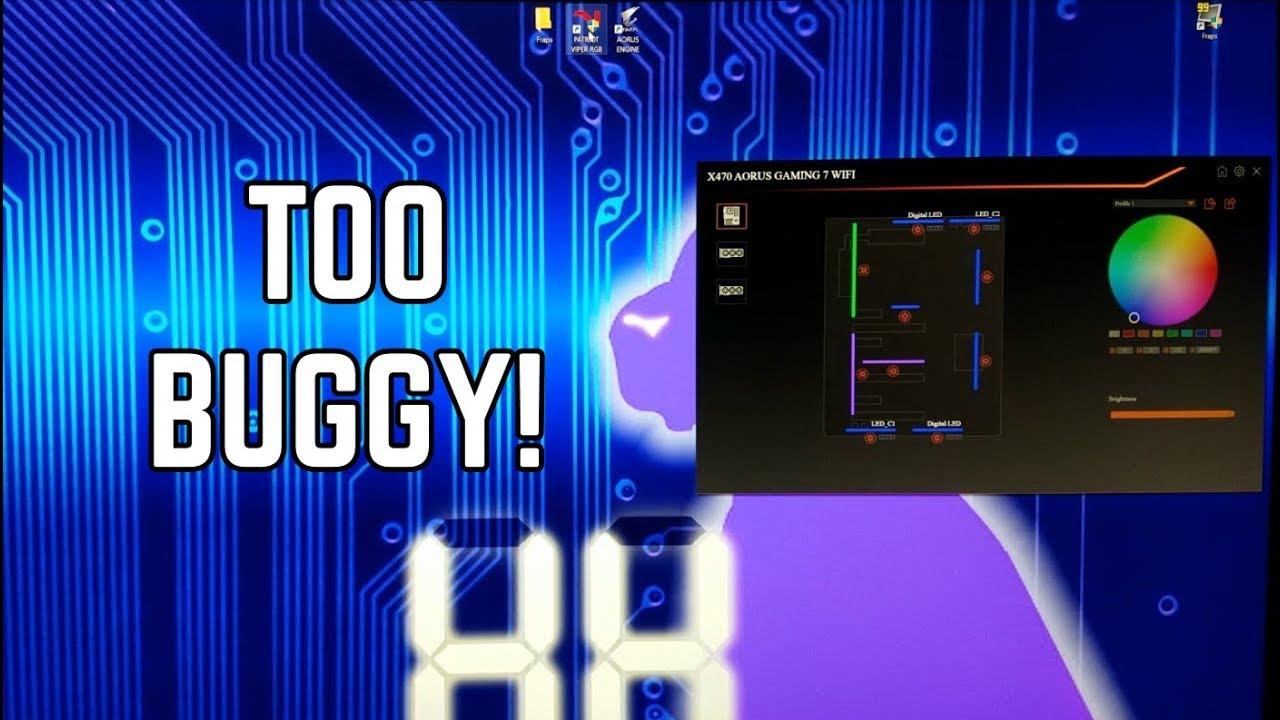 Gigabyte - RGB Fusion Software Needs Work! - auros