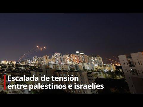 En vivo desde la Franja de Gaza: escalada de tensión entre palestinos e israelíes