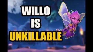 Paladins: WILLO IS UNKILLABLE! - PrinceDannyTV