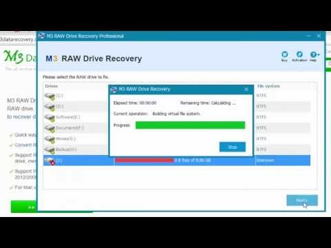 File system is RAW, chkdsk not available for RAW drives/USB/external