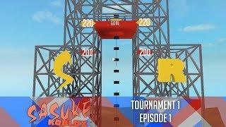 SASUKE Roblox Tournament 1, Episode 1