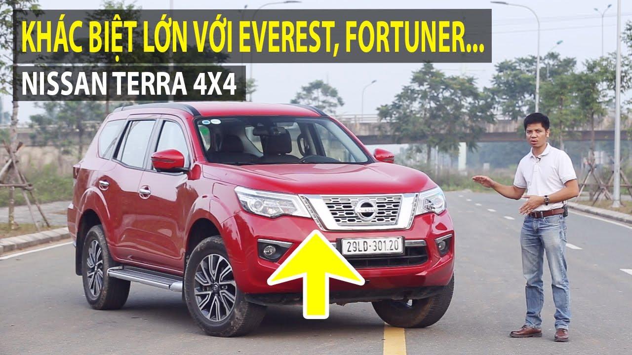 Đánh giá Nissan Terra 4×4 2019 – Khác biệt cực lớn với Everest, Fortuner,…   TIPCAR TV