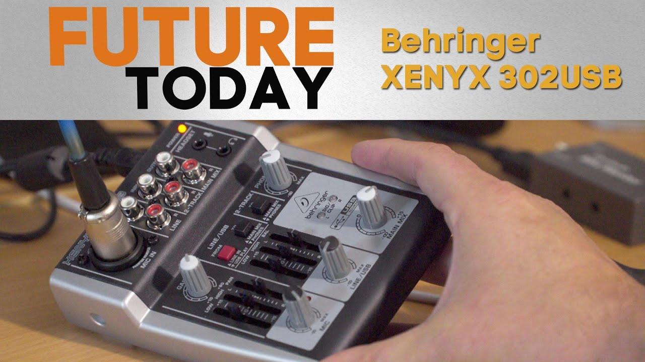 behringer xenyx 302usb test youtube. Black Bedroom Furniture Sets. Home Design Ideas