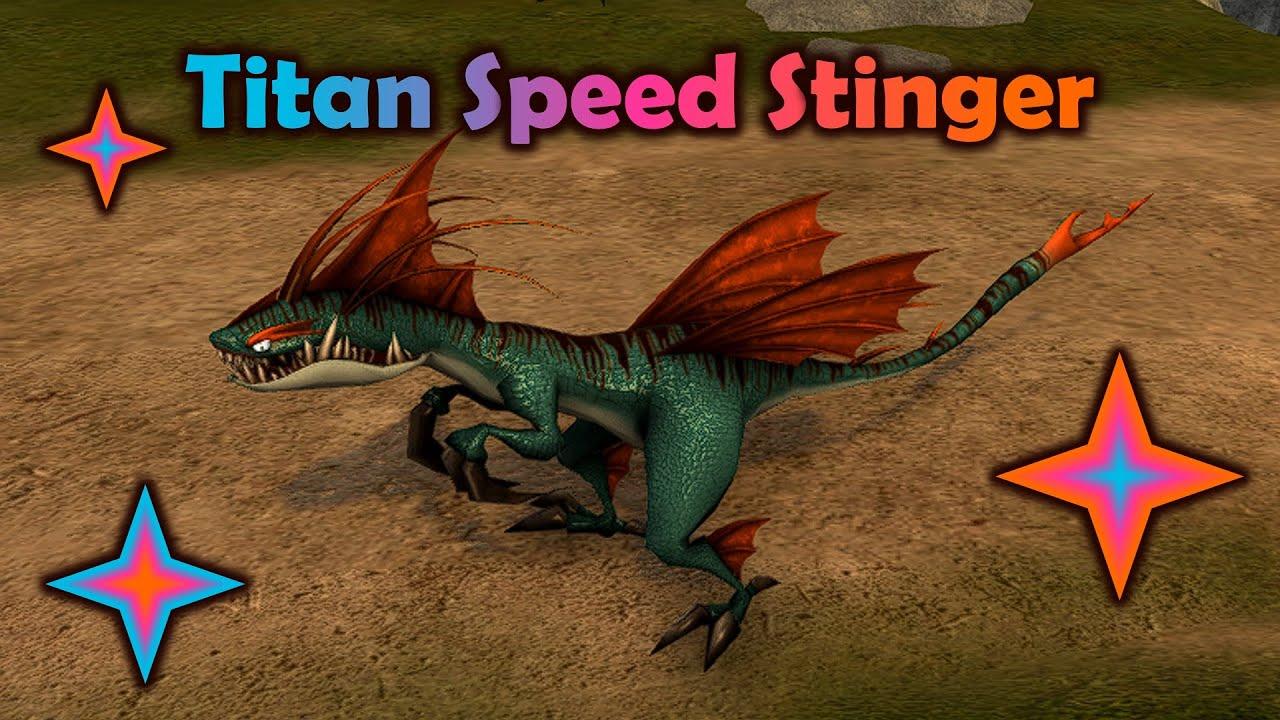 The Titan Speed Stinger - School of Dragons - YouTube