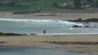 Paisajes de Asturias: Playa de La Isla, Colunga, mar Cantábrico