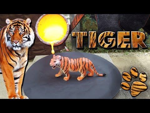 Molten Copper vs Tiger