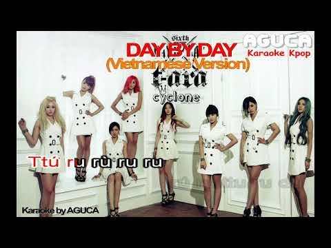 Day By Day   TAra   karaoke