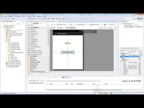 2 - Eclipse Programı Ve Android Uygulama Oluşturma