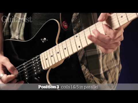 Music Man Game Changer HSH video demo Guitarist magazine