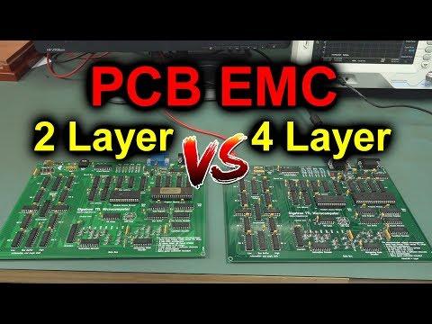 EEVblog #1176 - 2 Layer Vs 4 Layer PCB EMC TESTED!