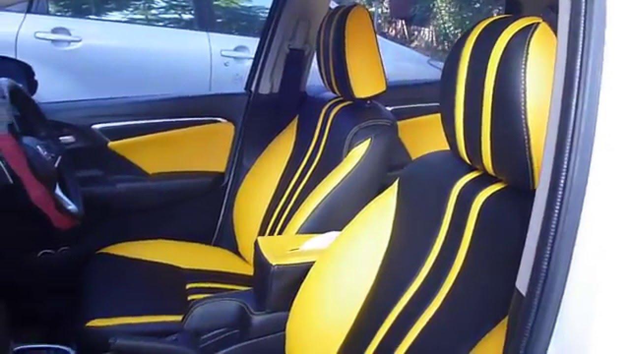 model terbaru jok mobil honda jazz rs 2016 kombinasi warna
