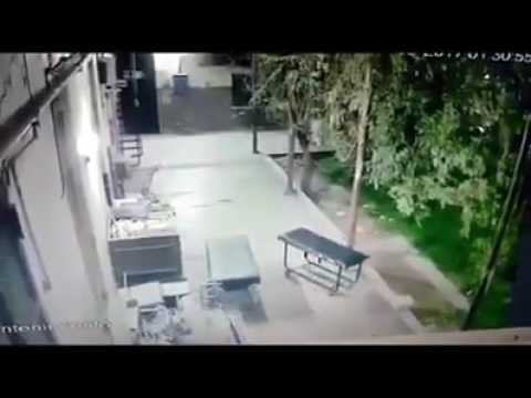 VÍDEO DE ASSOMBRAÇÃO EM HOSPITAL NA ARGENTINA