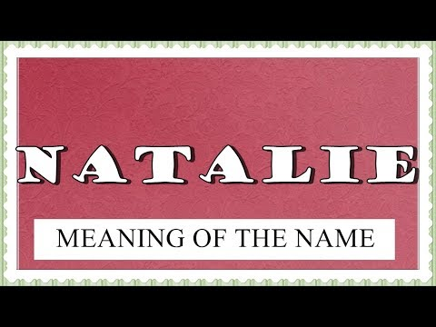 Natalia: Name Meaning, Popularity, and Similar Names