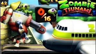 - Zombie Tsunami 64 Игровой мультик для детей про зомби, веселый детский мультик игра для малышей