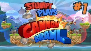 Stumpt Plays - Cannon Brawl - Tournament Part 1 (PC Gameplay)
