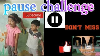 Pause challenge ⏸️|crazy pranks to mess with your cousin's|funny pranks|Tamil