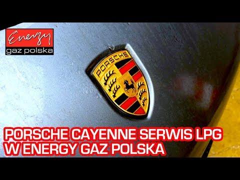 Serwis LPG: Porsche Cayenne 4.5 V8 na auto gaz w Energy Gaz Polska