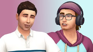 Opposites Attract: Creating an Unlikely Couple in The Sims 4 (Streamed 8/7/19)