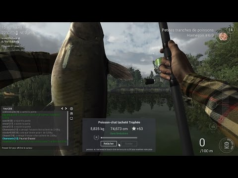 [TUTO] Fishing Planet FR - Poisson chat entre 3 et 5Kg - Comment faire?