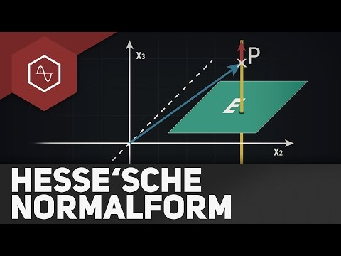 Abstand Punkt - Ebene über HNF (Hesse'sche Normalform)