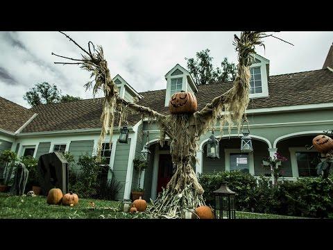 Tanya Memme's DIY Pumpkin Scarecrow